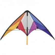 Aquilone Acrobatico Hq Calypso Ii Rainbow Larghezza Estensione 1100 Mm Intensit Forza Del Vento 2 - 5 Bft