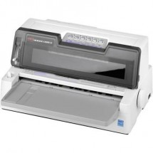 Stampante Ad Aghi Oki Ml6300Fb-Sc 450 Caratteri/Sec. Testina Di Stampa A 24 Pin , Ingresso Ridotto , Larghezza Di