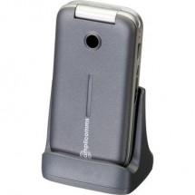 Cellulare A Conchiglia Senior Amplicomms Powertel M7000I Argento