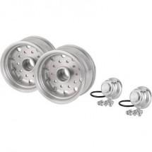 Carson Modellsport 1:14 Rimorchio per camion Cerchi 27.5 mm Alluminio Euro Alluminio 1 Paio/a