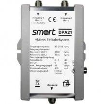 Sat Multiswitch Unicable Smart Dpa 21 Ingressi (Multiswitch): 2 (2 Satellitare / 0 Terrestre) Numero Utenti: 2