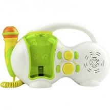 Karaoke X4 Tech Bobby Joey Usb Usb Incl. Funzione Karaoke , Incl. Microfono Bianco, Verde