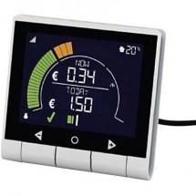 Geo Pck-Mp-003 Misuratore Costi Energetici Indicatore Luminoso, Previsione Di Spesa, Display A Colori Lcd, Tariffa