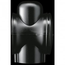 Adattatore per Palo diametro 60mm Nero