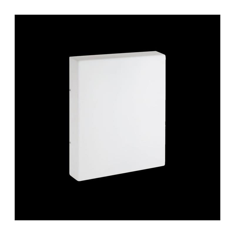 Plafoniera CFL da Parete Lombardo Cubo Flat 380 36W 2G11