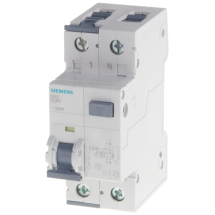 Interruttore Automatico magnetotermico Differenziale 16A 30ma 4,5kA Siemens 5SU13531KK16