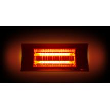 Lampada Infrarossi a Bassa Luminescenza Oasi (1000W/2000W) - versione Nera