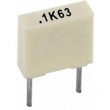 Kemet R82DC3220AA60K+ 1 pz. Condensatore Poliestere radiale 220 nF 63 V 10 % 5 mm (L x L x A) 7.2 x 2.5 mm x 6.5 mm