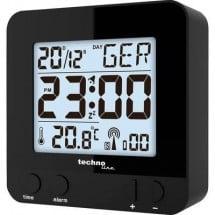 Techno Line WT235 sw Radiocontrollato Sveglia Nero Tempi di allarme 1