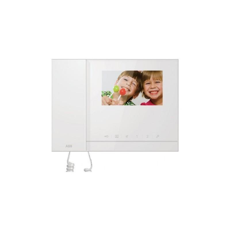 Monitor Per Videocitofono Abb A Colori 4,3 Con Cornetta E Memoria Immagine Monofamiliare