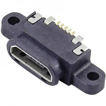 Presa da incasso micro USB tipo B Presa orizzontale Presa da incasso micro USB tipo B, impermeabile Attend Contenuto: 1
