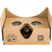 Basetech Headmount Google 3D VR Marrone Google Cardboard