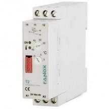 Relè di monitoraggio 24 V/DC, 24 V/AC 1 scambio 1 pz. Fanox T2-24 VAC/DC Temperatura