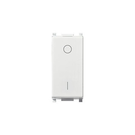 Vimar 14015 - Interruttore Bipolare Bianco Illuminabile 16Ax