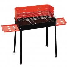 Barbecue A Carbonella 45X35Xh80Cm Con Ripiani Laterali Griglia 503C