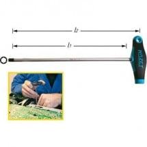 Hazet Officina e meccanica Cacciavite a esagono interno Dimensione chiave (metrica): 4 mm Lunghezza della lama: 150 mm