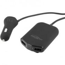 Ansmann In-Car 1000-0017 Caricatore USB Automobile, Camion Corrente di uscita max. 9600 mA 4 x USB