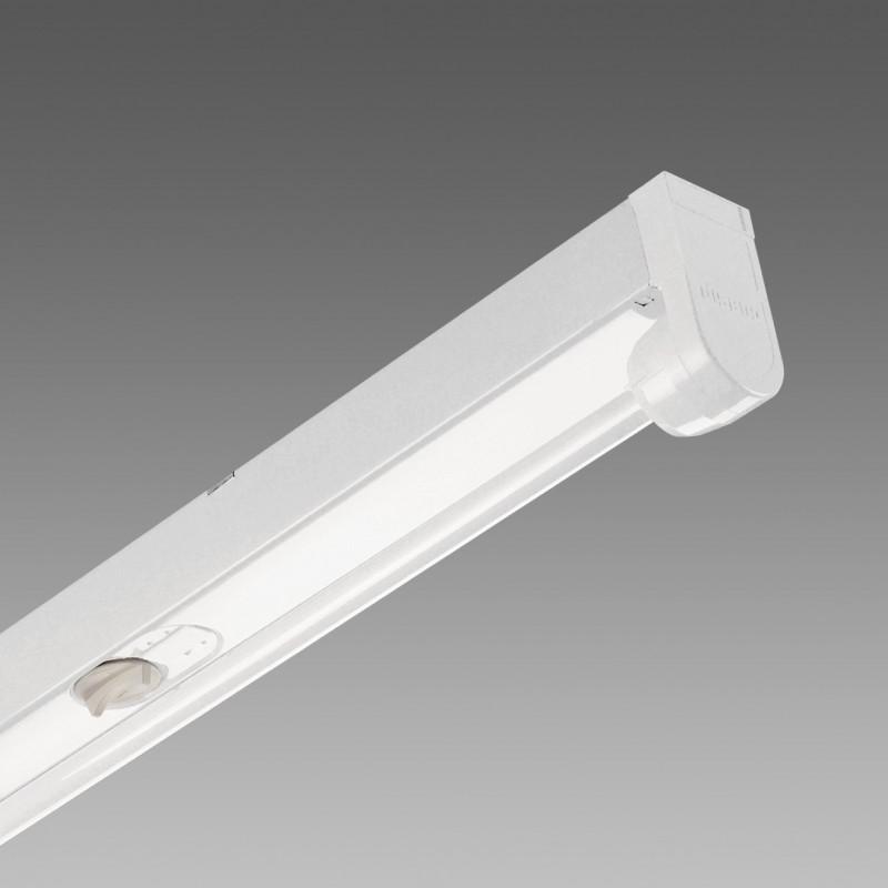 Plafoniera Rapid System T5 6401 Fluorescente 1X80 G5 Bianco