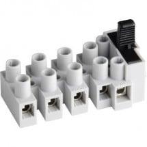 Adels-Contact 17 03 05 V9 Morsetto mammut flessibile: 0.5-2.5 mm² rigido: 0.5-2.5 mm² Poli: 5 1 pz. Naturale