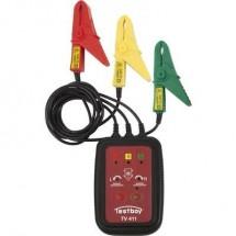 Testboy TV 411 Misuratore campo rotante CAT III 600 V LED