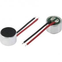 Capsula microfonica 4.5 - 10 V/DC Range frequenza 100 Hz - 10000 Hz KEPO KPCM-94H65L-40DB-1689