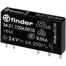 Finder 34.51.7.012.0010 Relè per PCB 12 V/DC 6 A 1 scambio 1 pz.