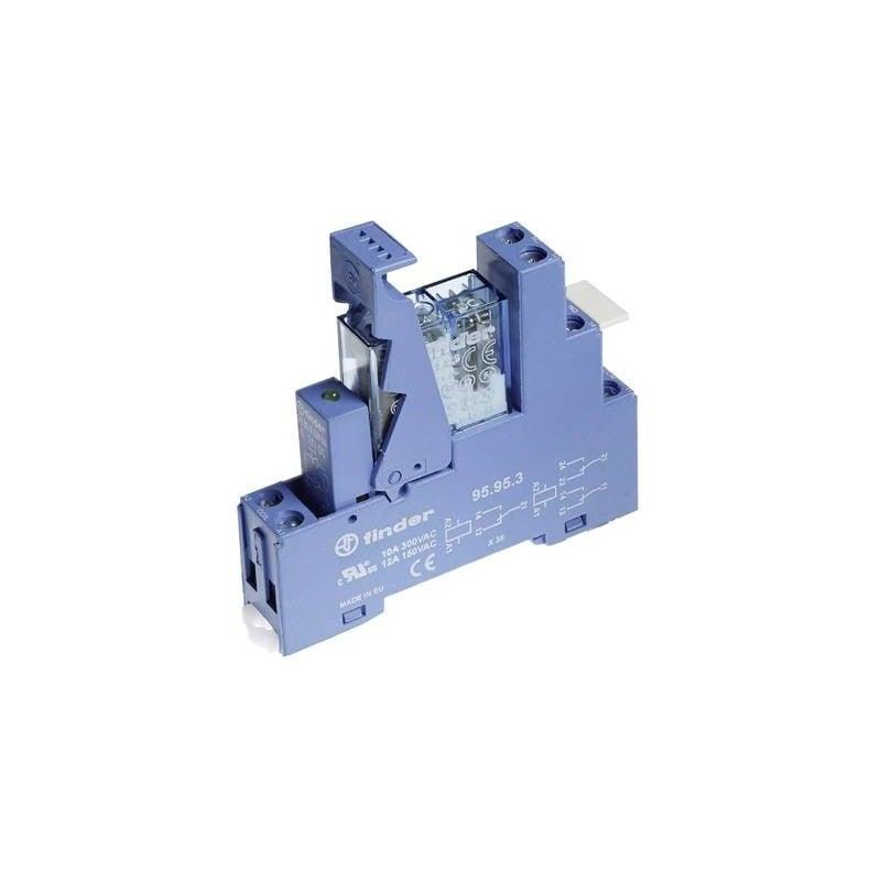 RELE/' DIL DOPPIO SCAMBIO 6 V resistenza bobina 80 ohm potenza 450 mW  1A//30 VDC