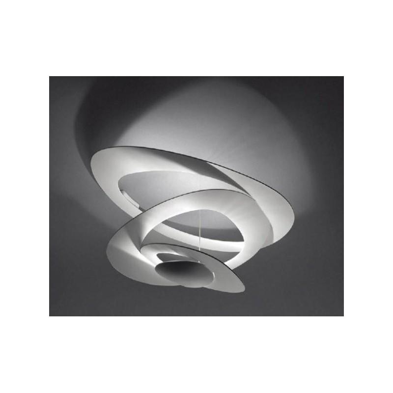 Lampadario da soffitto led bianco 45w luce calda 3000k for Lampadari luce led