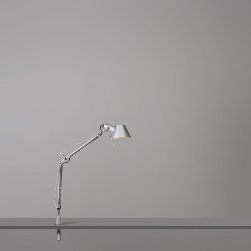 Lampada Da Scrivania Tavolo Alogena Alluminio E14 60w Artemide Tolomeo