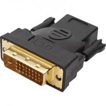 Adattatore DVI / HDMI club3D [1x Spina DVI 24+1 poli - 1x Presa HDMI] Bianco