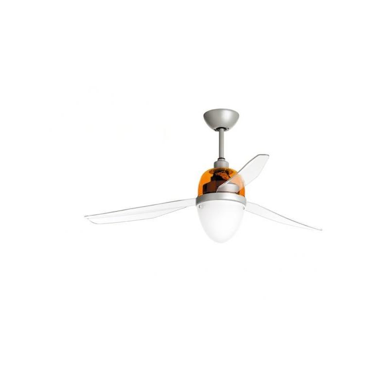 Ventilatore Da Soffitto Con Luce Con Telecomando Multicolor Eco 75W