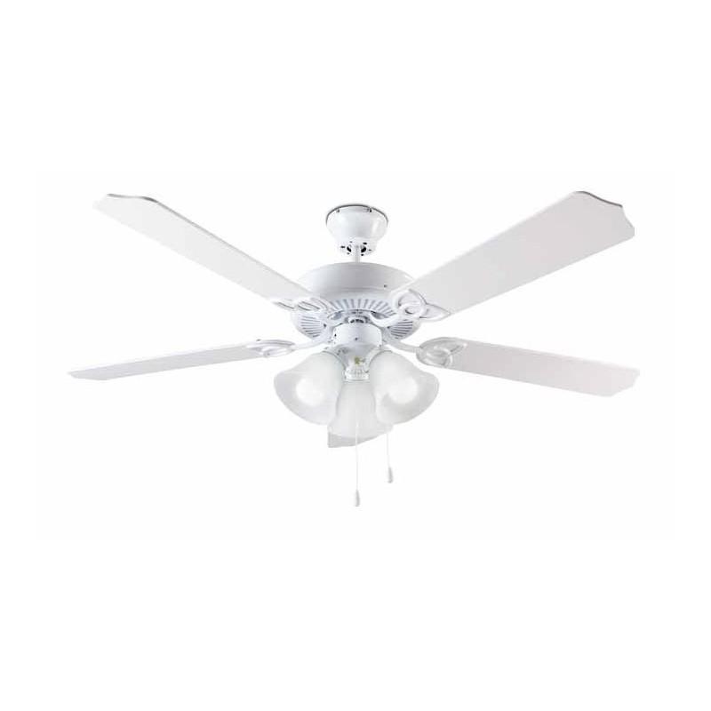 Lampadari Con Ventilatore Vortice.Ventilatore Da Soffitto 5 Pale Con Lampadario Diametro 130 Cm