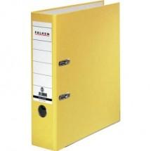 Falken Raccoglitore FALKEN Recycolor DIN A4 Larghezza dorso: 80 mm Giallo 2 archetti 11285772