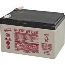EnerSys Genesis NP12-12 Batteria al piombo 12 V 12 Ah Piombo-AGM (L x A x P) 151 x 100 x 98 mm Spina piatta 6,35 mm