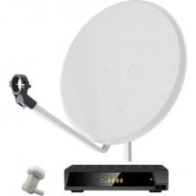 Smart DA1-60E Sistema SAT con ricevitore Numero utenti: 60 cm