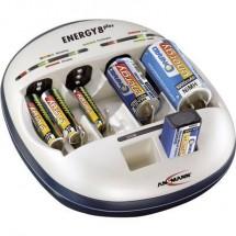 Caricabatterie universale Ansmann Energy 8 plus NiCd, NiMH Ministilo (AAA), Stilo (AA), 1/2 Torcia (C), Torcia (D),