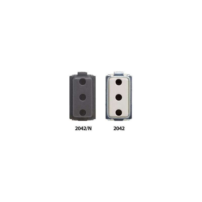 Presa Di Sicurezza 2P + Terra Feb Elettrica 16A 250V Bianco