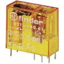 Finder 40.61.8.012.0000 Relè per PCB 12 V/AC 16 A 1 scambio 1 pz.