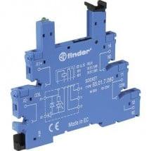 Finder 93.01.7.024 Zoccolo per relè con leva di bloccaggio, con LED, con circuito di soppressione EMC 1 pz. Adatto per