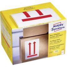 Avery Zweckform 7250 Etichetta avvertimento, 74 x 100 mm, simbolo: Doppia freccia (In alto/sopra), 1 rotolo/200