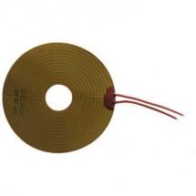 Thermo Poliimmide Lamina riscaldante Autoadesivo 12 V/DC, 12 V/AC 15 W Tipo di protezione IPX4 (Ø) 90 mm