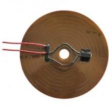 Thermo Poliimmide Lamina riscaldante Autoadesivo 12 V/DC, 12 V/AC 15 W Tipo di protezione IPX4 (Ø) 140 mm