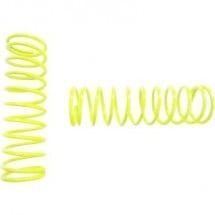 Molle tuning per ammortizzatori Reely 1:8 Extra dura Giallo Neon 65 mm 2 pz.
