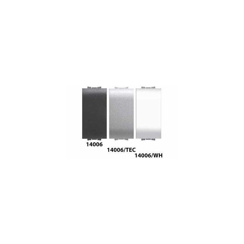 elettrocanali ECL4006wh invertitore unipolare life bianco 16A