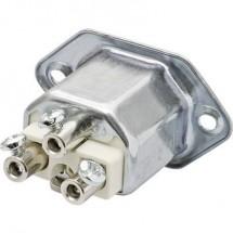 Connettore di alimentazione 444 Serie: 444 Spina con telaio di montaggio Tot poli: 2 + PE 16 A Metallo Kalthoff 444.1 1