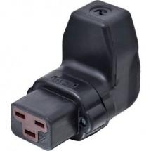 Connettore IEC 444 Serie: 444 Presa angolata Tot poli: 2 + PE 16 A Nero Kalthoff 444Gu/Wi 1 pz.
