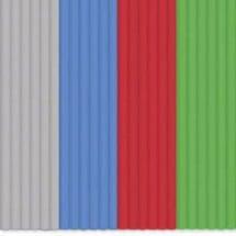 3Doodler Start Kit Filamenti Stampante 3D Plastica Pla Grigio, Blu, Rosso, Verde