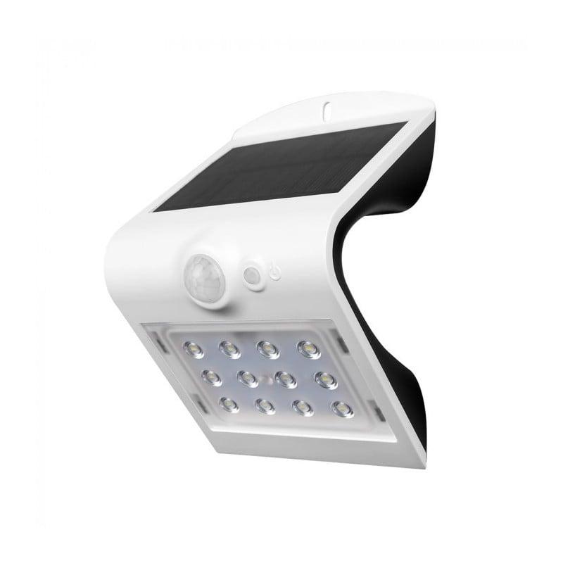 V-Tac Vt-767-2 Lampada Da Muro Led 1,5W Con Pannello Solare E Sensore