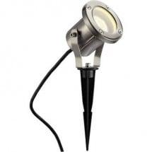 Faretto da giardino Classe energetica: a seconda della lampada LED, Lampada a risparmio energetico, Lampadina Alogena