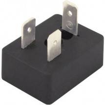 Connettore per valvola Nero BM1N02000 Poli:2 + PE HTP Contenuto: 1 pz.